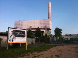 Plakat Lehrstellenaktion vor MVA Bonn